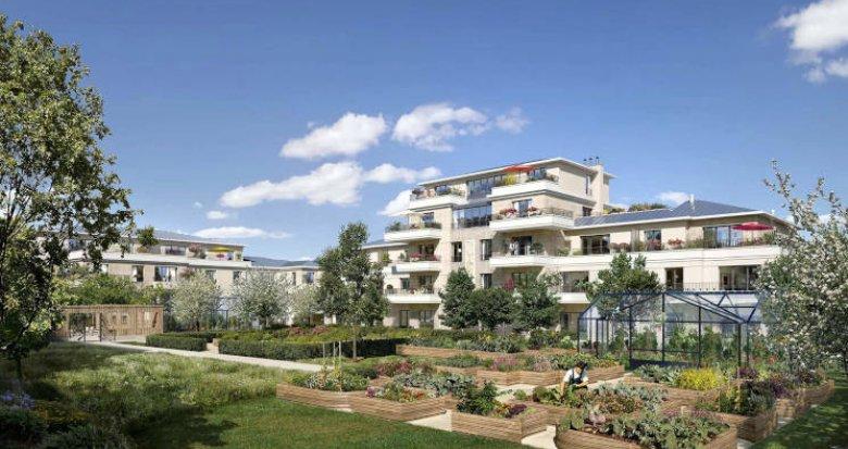 Achat / Vente programme immobilier neuf Saint-Maur-des-Fossés à 1km du RER A (94100) - Réf. 5765