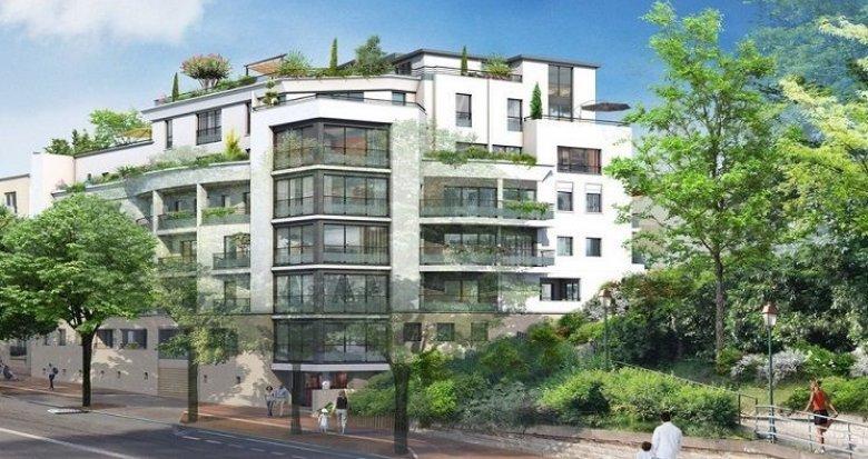 Achat / Vente programme immobilier neuf Saint-Maurice-du-Valais à 600 mètres du bois de Vincennes (94410) - Réf. 2025