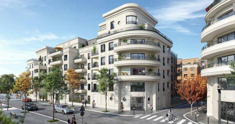 Achat / Vente programme immobilier neuf Saint-Ouen cœur quartier Debain-Michelet (93400) - Réf. 5052