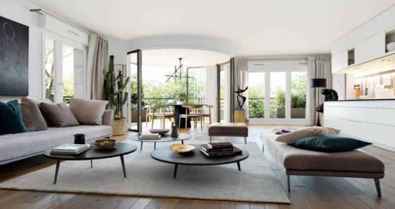 Achat / Vente programme immobilier neuf Saint-Ouen proche du Parc des Docks (93400) - Réf. 4440
