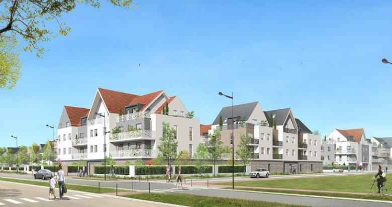 Achat / Vente programme immobilier neuf Saint-Pierre-de-Perray cœur ecoquartier de la Clé (91280) - Réf. 5615