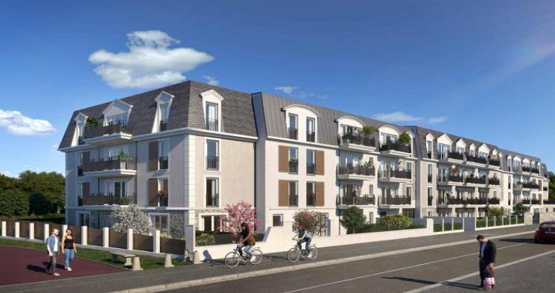 Achat / Vente programme immobilier neuf Sainte-Geneviève-des-Bois proche centre-ville (91700) - Réf. 4946