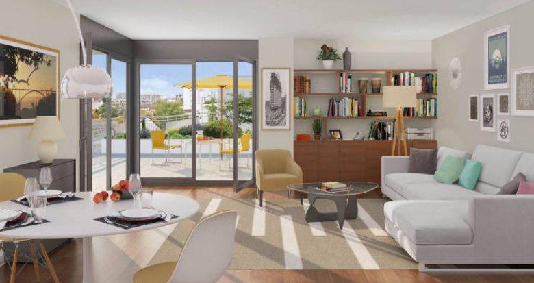 Achat / Vente programme immobilier neuf Sarcelles à 900 mètres du Transilien H (95200) - Réf. 5051