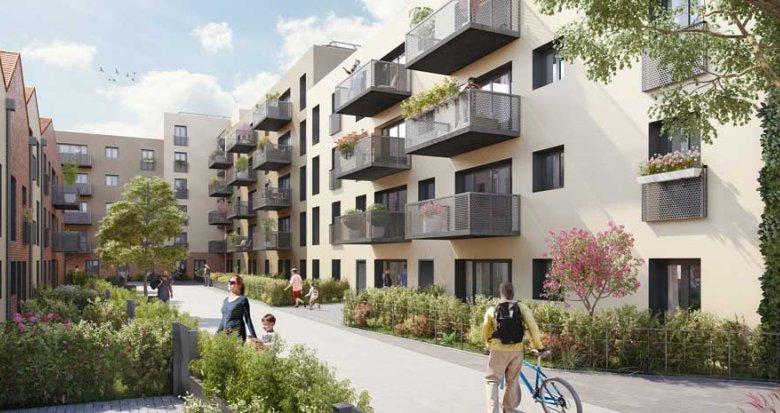 Achat / Vente programme immobilier neuf Sarcelles cœur de ville (95200) - Réf. 2450