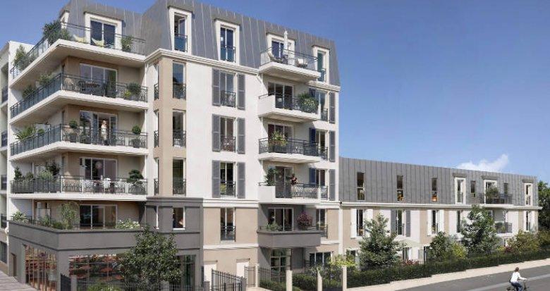 Achat / Vente programme immobilier neuf Sartrouville à 300 m de la gare RER A (78500) - Réf. 5858