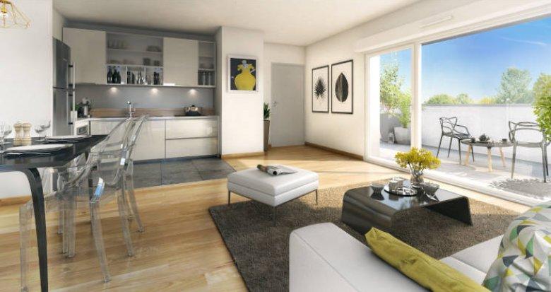 Achat / Vente programme immobilier neuf Savigny-le-Temple quartier calme et résidentiel (77176) - Réf. 5847