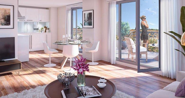 Achat / Vente programme immobilier neuf Savigny-sur-Orge proche commerces et transports (91600) - Réf. 2392