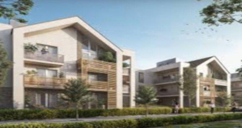 Achat / Vente programme immobilier neuf Serris proche Parc des Communes (77700) - Réf. 4050
