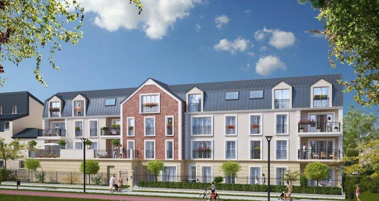 Achat / Vente programme immobilier neuf Vauréal centre-ville (95490) - Réf. 1261