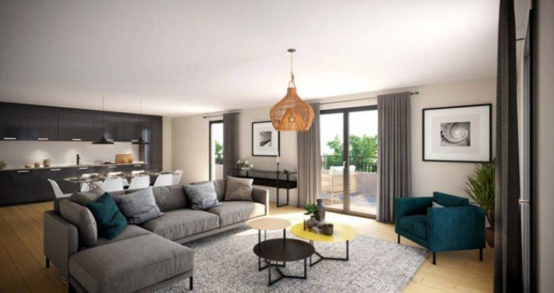 Achat / Vente programme immobilier neuf Verneuil-sur-Seine quartier proche du centre (78480) - Réf. 5704