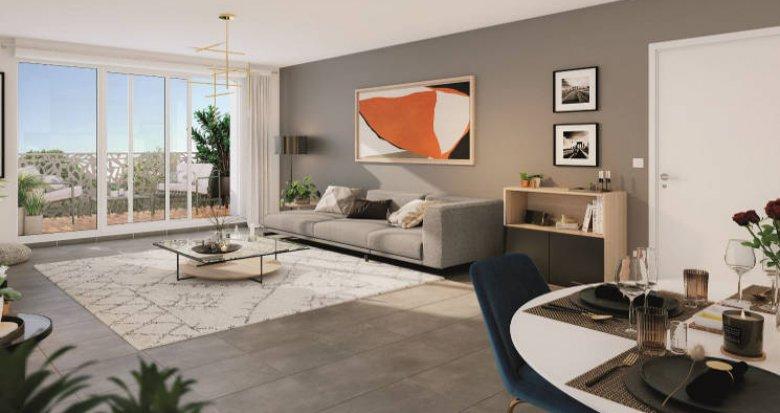 Achat / Vente programme immobilier neuf Vert-le-Petit à proximité du cœur de ville (91710) - Réf. 4385