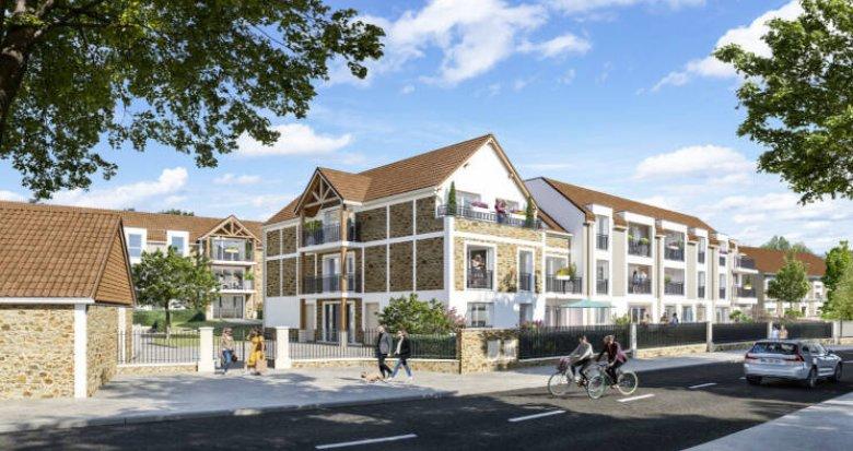 Achat / Vente programme immobilier neuf Villabé centre proche RER D (91100) - Réf. 6051