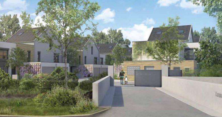 Achat / Vente programme immobilier neuf Villebon-sur-Yvette au pied du parc (91140) - Réf. 3877