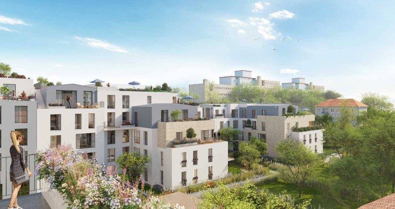 Achat / Vente programme immobilier neuf Villejuif proche métro et tramway (94800) - Réf. 6185