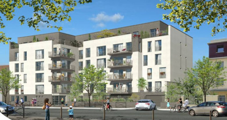 Achat / Vente programme immobilier neuf Villemomble à 900m du RER E (93250) - Réf. 4876