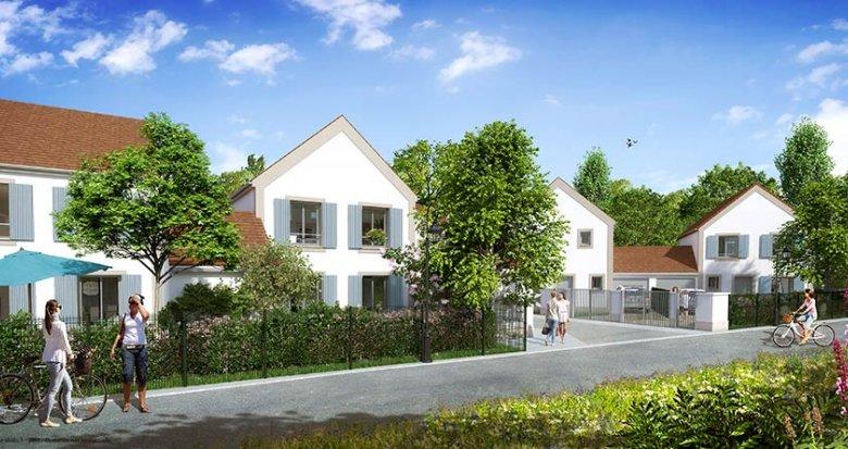 Achat / Vente programme immobilier neuf Villeneuve-le-Comte proche Disneyland et Val d'Europe (77174) - Réf. 1746