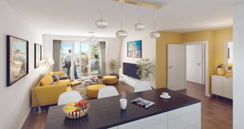 Achat / Vente programme immobilier neuf Villeneuve-Saint-Georges à 700m du RER D (94190) - Réf. 5747