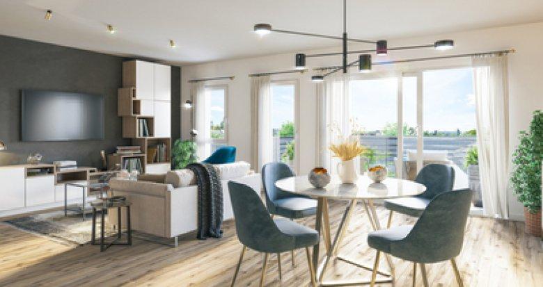 Achat / Vente programme immobilier neuf Villeparisis à moins de 10min à pied du RER B (77270) - Réf. 6287