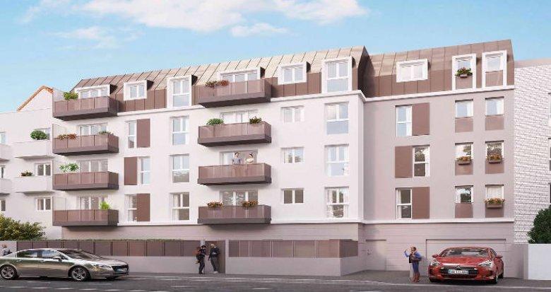 Achat / Vente programme immobilier neuf Villepinte à 350 mètres du RER B (93420) - Réf. 5457