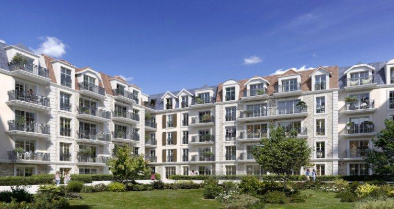 Achat / Vente programme immobilier neuf Villiers-sur-Marne proche RER E (94350) - Réf. 5370