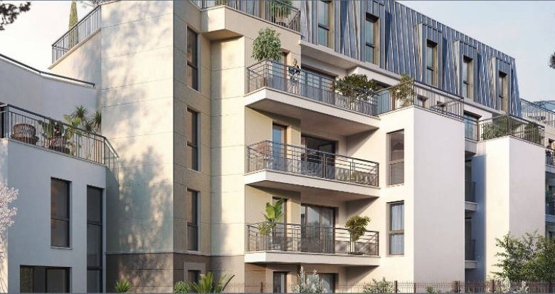 Achat / Vente programme immobilier neuf Viroflay proche RER C et Transilien N (78220) - Réf. 5040